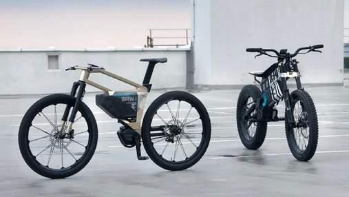 BMW представила концепты электрических велосипеда и мотоцикла со сменной максимальной скоростью