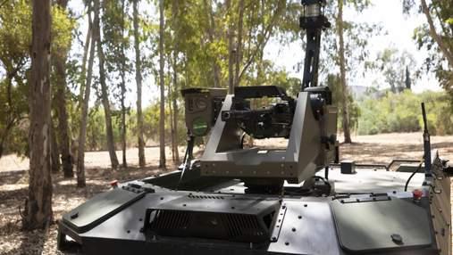 В Израиле границы будет патрулировать вооруженный робот