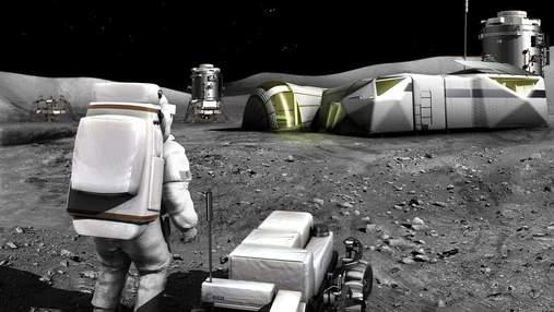 NASA використає рій роботів для будівництва бази на Місяці