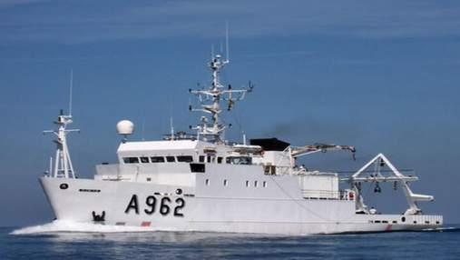 Україні передали науково-дослідне судно для екомоніторингу Чорного та Азовського морів
