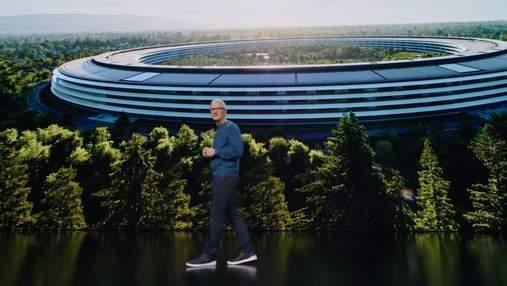 У мережі з'явилися всі ролики з учорашньої презентації Apple: вражаючі відео