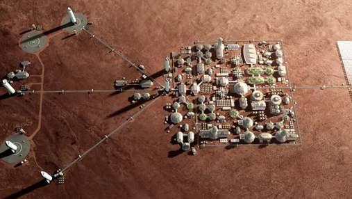 Вчені запропонували технологію створення марсіанського бетону з крові, поту й сліз космонавтів
