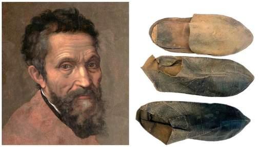 Італійські вчені визначили зріст Мікеланджело за допомогою його капців