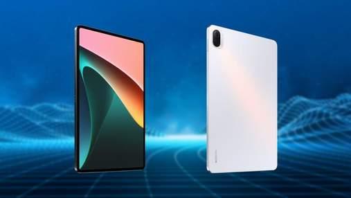 Xiaomi представила 11-дюймовий планшет Pad 5 з процесором Snapdragon 860