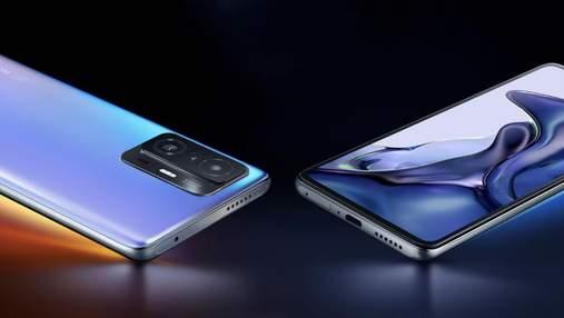 Представлено Xiaomi 11T і 11T Pro – флагмани зі 108-Мп камерами й зарядкою до 120 Вт