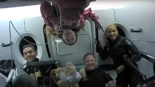 Екіпаж Crew Dragon мав деякі труднощі з туалетом під час місії Inspiration4