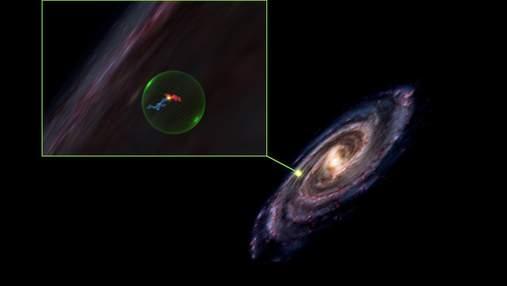 Астрономы обнаружили в космосе гигантскую пустоту