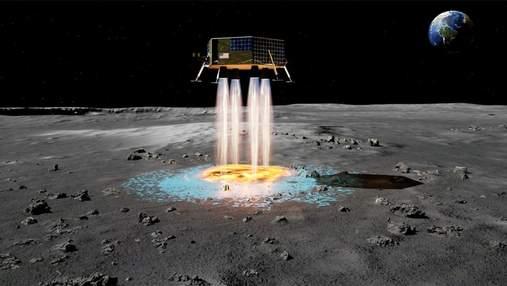 Как создать на Луне посадочную площадку, не сажая на спутник корабль