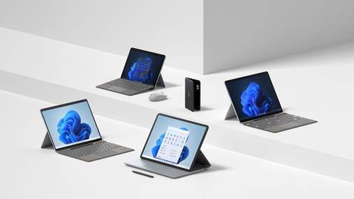 Surface Pro 8 та Surface Go 3: Microsoft показала нові планшети