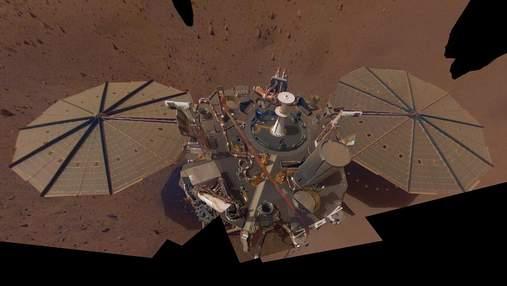 Аппарат на Марсе зафиксировал три землетрясения