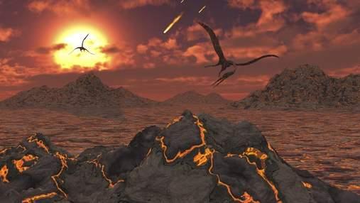Уточнення причини: вчені назвали катаклізм, які не вплинули на вимирання динозаврів