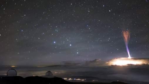 Возле Виргинских островов зафиксировали гигантский джет: видео редкого явления