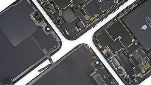iFixit показала нутрощі iPhone 13 Pro: що цікавого знайшли у смартфоні
