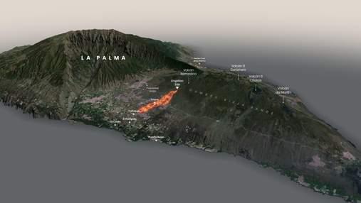 Через виверження вулкану на Канарах була знищена обсерваторія