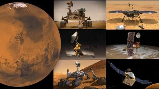 Марсіанські апарати залишаються без зв'язку із Землею