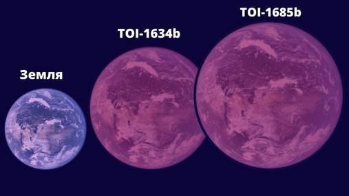 Астрономи виявили масивну суперземлю де рік триває менше ніж доба на Землі