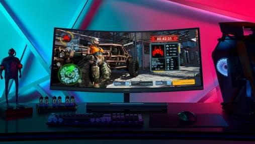 Huawei представила в Україні свій перший ігровий монітор MateView GT