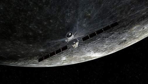 BepiColombo відвідав Меркурій: підбірка фотографій