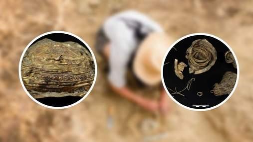 В Австрії знайшли стародавню золоту чашу з солярною символікою, якій понад 3000 років