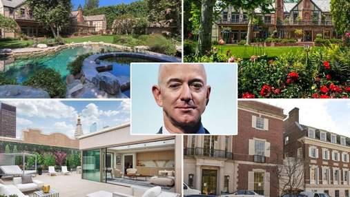 Сколько стоит недвижимость самых богатых людей в мире: дома Маска Безоса, Цукерберга, Арно