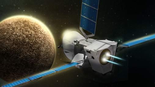 Усі фото Меркурія зроблені апаратом BepiColombo в одному відео