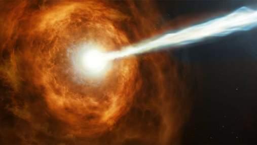В районі найвіддаленішої галактики виявлений енергетичний вибух: що це було насправді