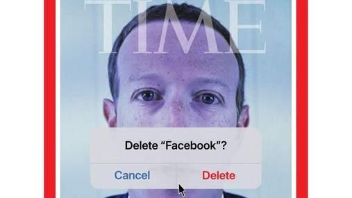 """Закрыли рот Цукербергу и """"удалили"""" Facebook: новая обложка TIME вызвала резонанс в сети"""