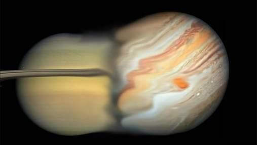 Что будет, если столкнутся Юпитер и Сатурн