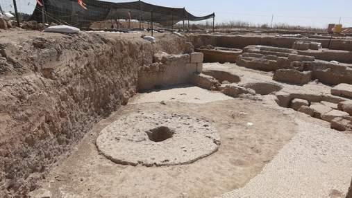 В Ізраїлі знайшли стародавній виноробний завод, який працював понад 1000 років тому