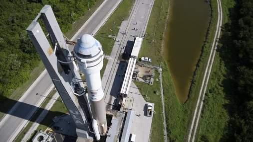 Boeing вновь перенесла второй испытательный запуск космического корабля Starliner