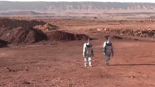 Імітація проживання в кратері на Марсі: в ізраїльській пустелі розпочали важливий експеримент