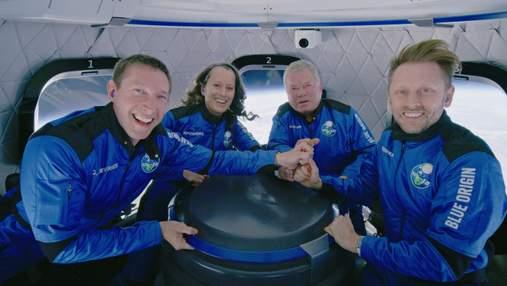 Капітан Кірк у космосі: Blue Origin Джеффа Безоса успішно здійснила другу туристичну місію