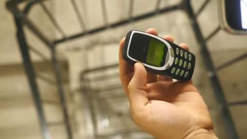 Прочность iPhone 13 Pro сравнили с легендарным Nokia 3310