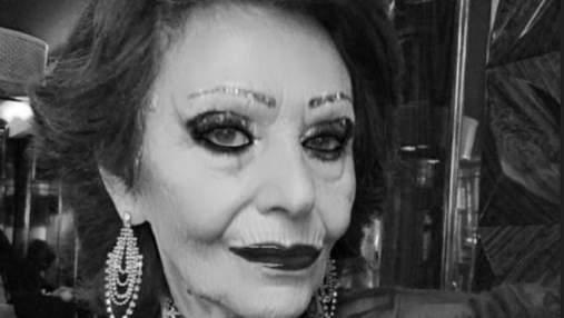 Померла епатажна 73-річна модель і світська левиця Олена Вовк: що відомо про жінку