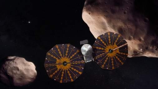 NASA успешно отправило зонд Lucy для изучения троянских астероидов Юпитера