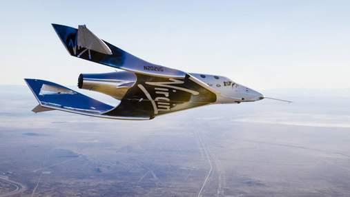 Virgin Galactic перенесла туристичні суборбітальні польоти на 2022 рік: нова дата старту місій