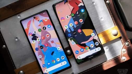 Google нарешті представила смартфони Pixel 6 та  Pixel 6 Pro, приємно здивувавши їх ціною