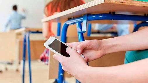 Одеським школярам хочуть заборонити користуватися телефонами на уроках