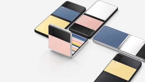 Galaxy Z Flip 3 Bespoke Edition: Samsung представила смартфон з 49 варіантами забарвлення