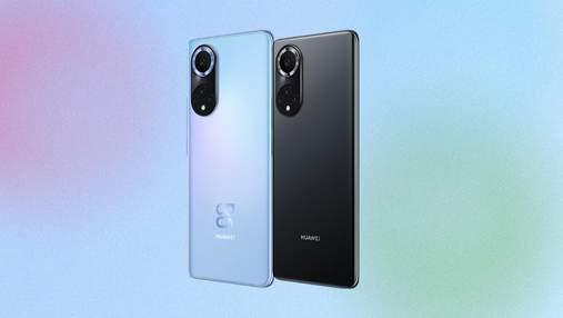 Huawei представила смартфон для молоді Nova 9 з акцентом на камері