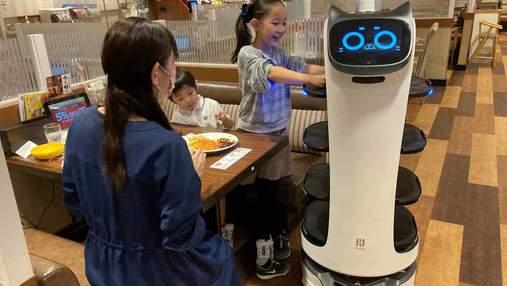 В японском ресторане гостей будут обслуживать роботы-официанты
