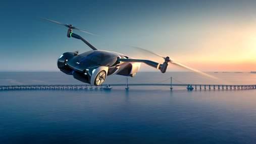 Зможе літати та їздити дорогами: китайська компанія Xpeng представила власний електромобіль