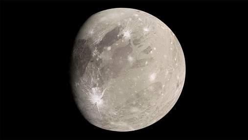 Насколько велик самый большой спутник Солнечной системы