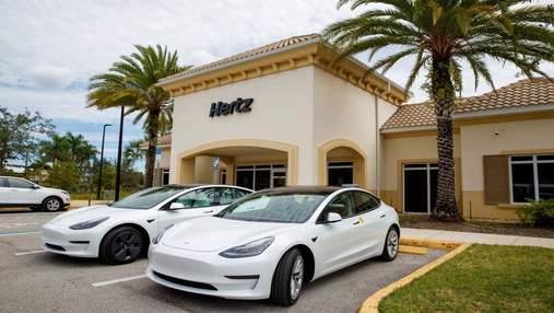 Компания Hertz планирует создать самый большой парк прокатных электромобилей в Северной Америке