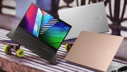 Элегантность, утонченный дизайн и OLED: Asus представила в Украине VivoBook 15
