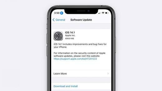Apple выпустила обновления iOS 14.1 и 14.2 beta 4: список нововведений