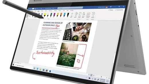 2 в 1: Lenovo випустила ноутбук, що може трансформуватись у планшет