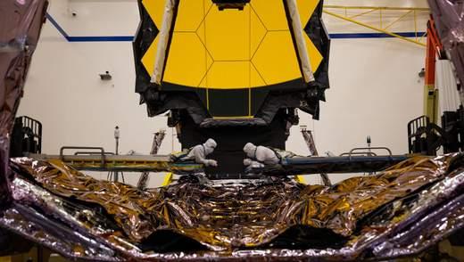 James Webb готовий до польоту: головний космічний телескоп зібраний і чекає старту восени